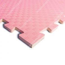 Мягкий пол универсальный, 100*100(см), толщина 1см, розовый