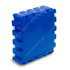 Мягкий пол универсальный, 33*33(см), толщина 1см, синий