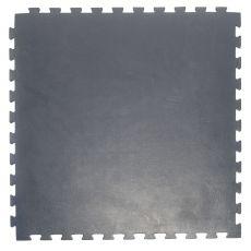 Модульный коврик для тренажерных залов, толщина 1см, 1м х 1м, жесткость 70 ШОР Цвет: серый