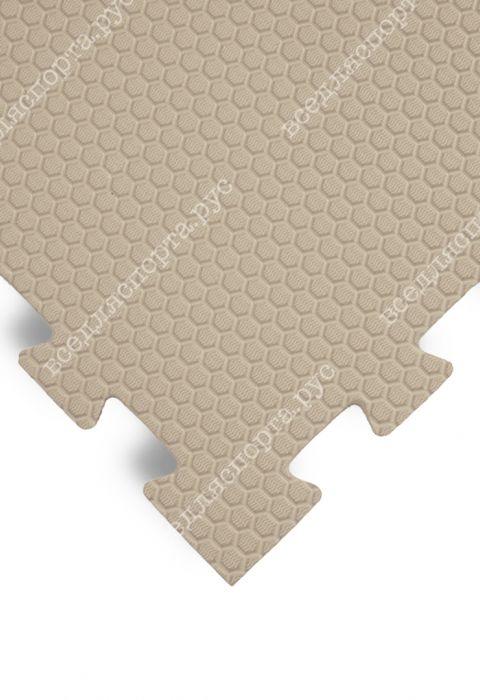 Будо-маты EVA «Ласточкин хвост» 1,4 см 35 ШОР бежевый