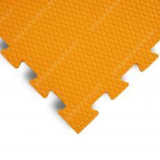 Мягкий пол универсальный, 100*100(см), толщина 1.4см, оранжевый