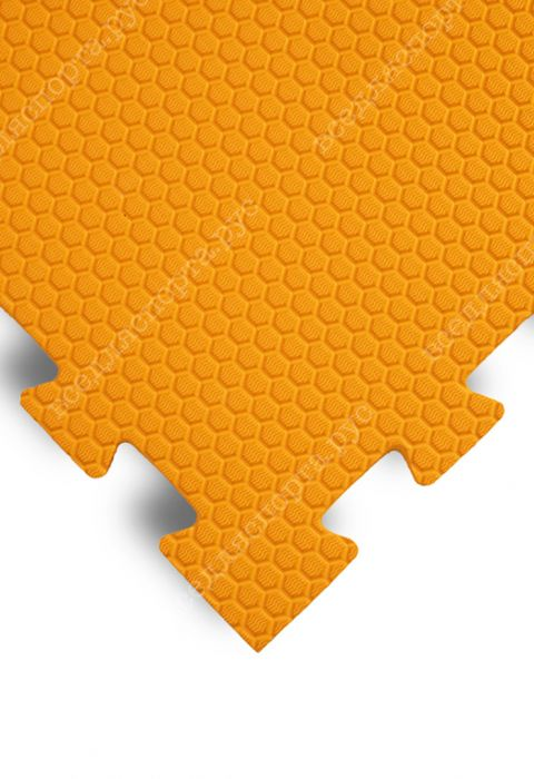 "Будо-маты EVA «Ласточкин хвост» 1,4 см ""Сорт2"" 35 ШОР оранжевый"