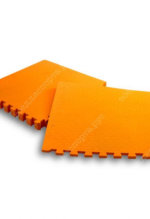 Мягкий пол универсальный, 50*50(см), толщина 1.4см, оранжевый