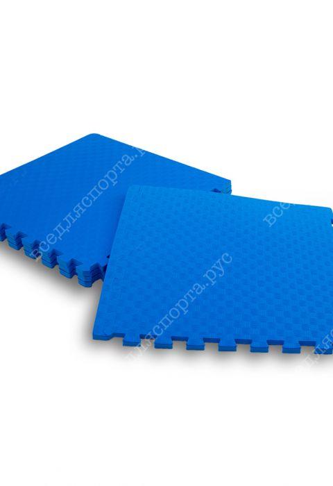 Мягкий пол универсальный, 50*50(см), толщина 1.4см, синий
