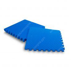 Мягкий пол, 60*60 (см), толщина 1см, синий