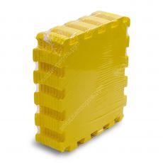 Мягкий пол универсальный, 33*33(см), толщина 1см, желтый