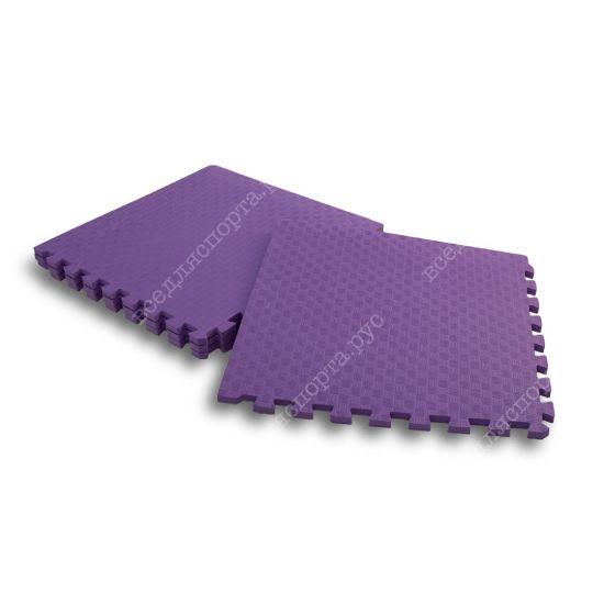Мягкий пол, 50*50(см), толщина 1.4см, фиолетовый