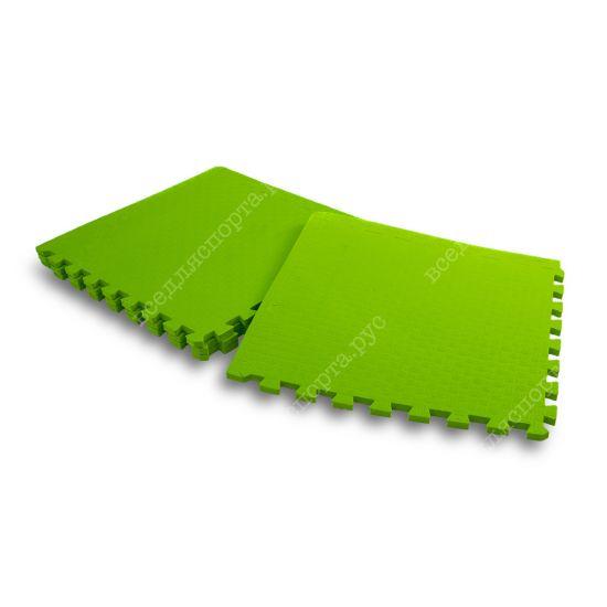 Мягкий пол, 50*50(см), толщина 1.4см, салатовый