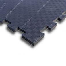 Мягкий пол EVA «Ласточкин хвост» 1 см 35 ШОР черный
