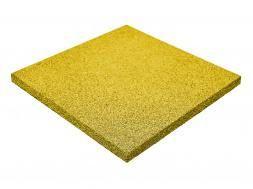 Резиновая плитка 50х50см, толщина 1 см