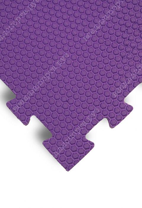 Мягкий пол универсальный, 100*100(см), толщина 1.4см, фиолетовый