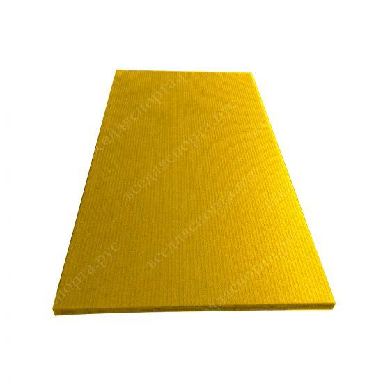 """Татами """"JUDO"""" с открытым дном, толщина 4см, плотность 220, цвет желтый"""