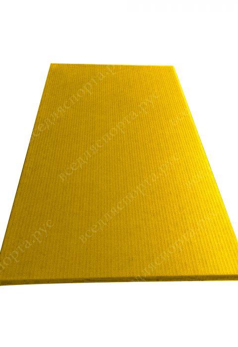 """Татами """"JUDO"""" с открытым дном, толщина 4см, плотность 180, цвет желтый"""