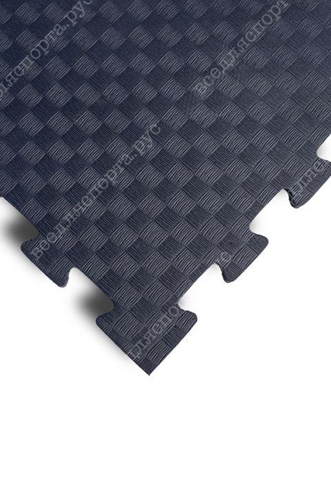 Мягкий пол универсальный, 100*100(см), толщина 1см, черный