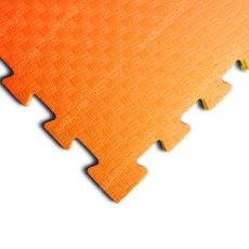 Мягкий пол EVA «Ласточкин хвост» 1 см 35 ШОР оранжевый