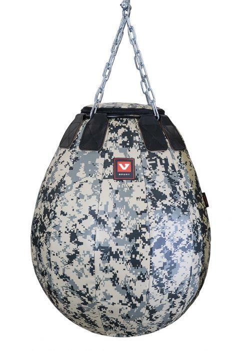 Груша боксерская «Шар-гигант» серия Military, высота 80 см, Ø 55 см, вес 45-50 кг.