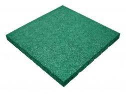 Резиновая плитка 50х50см, толщина 5 см