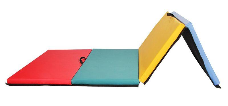 Дорожка акробатическая из матов повышенной плотности 200х100х4см (Липучка, тент, антислип)