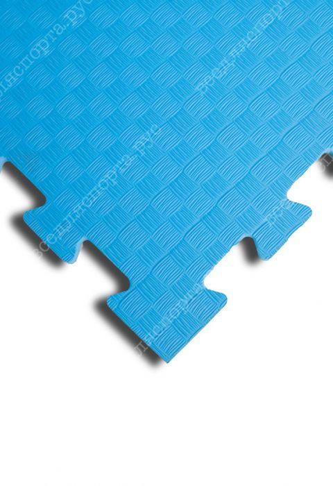 Мягкий пол универсальный, 100*100(см), толщина 1см, голубой