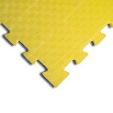 Мягкий пол EVA «Ласточкин хвост» 1 см 35 ШОР желтый