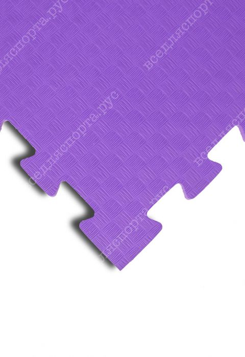 Мягкий пол универсальный, 100*100(см), толщина 1см, фиолетовый