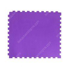 Мягкий пол EVA «Ласточкин хвост» 1 см 35 ШОР фиолетовый