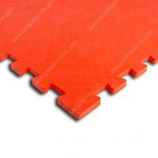 Мягкий пол EVA «Ласточкин хвост» 1 см 35 ШОР красный