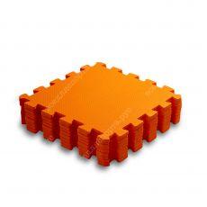 Мягкий пол, 33*33(см), толщина 1см, оранжевый