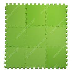 Мягкий пол универсальный, 33*33(см), толщина 1см, салатовый