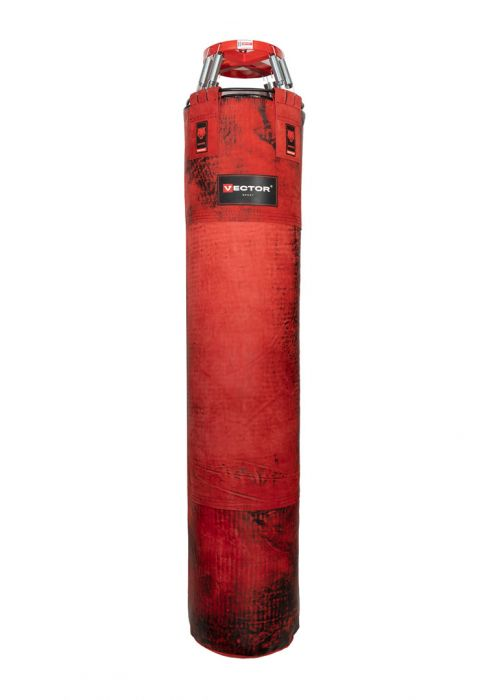 Мешок боксерский «SAVAGE» из буйволиной кожи, высота 150 см, Ø 40 см
