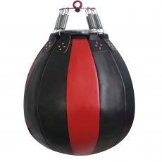 Груша боксерская «ШАР» из натуральной кожи, высота 60 см, Ø 50 см, вес 30 кг.