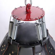 Груша боксерская «Шар-гигант» из лодочного материала ПВХ, высота 80 см, Ø 55 см, вес 45-50 кг.