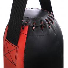 Груша боксерская «Под растяжки №2» из лодочного ПВХ, высота 45 см, Ø 22 см, вес 7 кг.