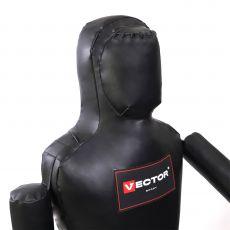 Детский манекен одноногий Самбо/Дзюдо из лодочного ПВХ, 110 см