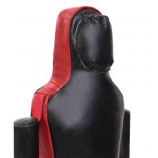 Манекен одноногий Самбо/Дзюдо из натуральной кожи, 180 см